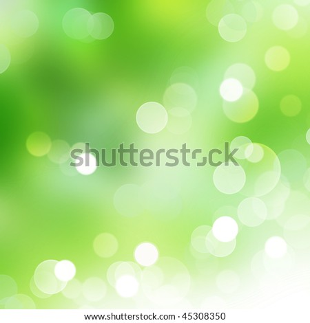 Abstract Nature Bokeh