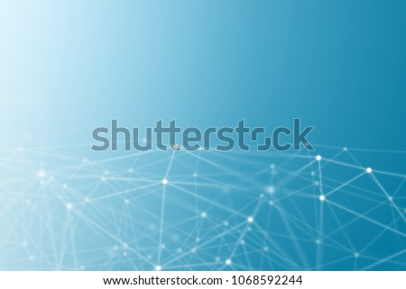 abstract network concept background - graphic design