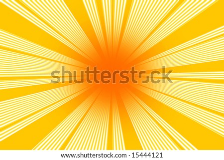abstract of a hot summer sun background