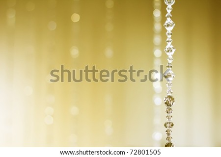 Abstract of Blind Crystal Background