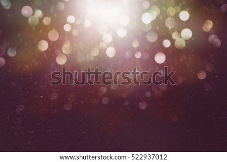 Abstract of Bright and sparkling bokeh background. - Shutterstock ID 522937012