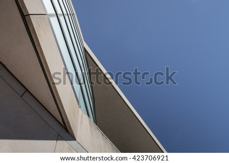 Abstract of Building and sky II  #423706921