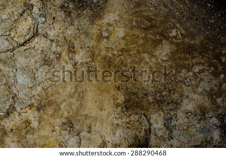 Abstract of dry ground with brown color lighting on left and darken on right