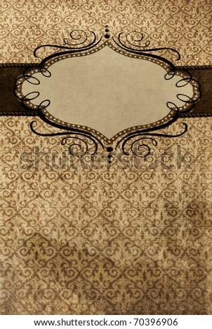 abstract of Grunge  restaurant menu - stock photo