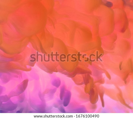 Photo of  Abstract of purple and blue cloud