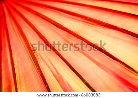 abstract of red lines