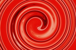 abstract of red spiral for background used