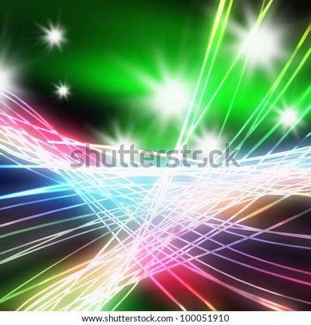 Abstract of stage concert lighting ,lighting and glow effect