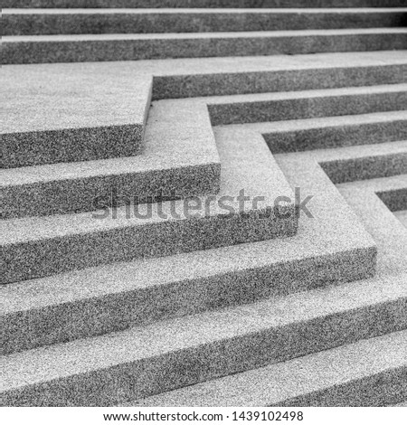 Abstract of stair concrete stone for background