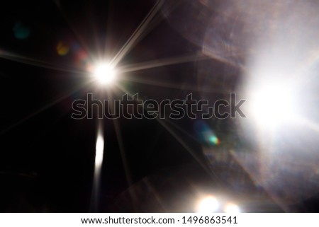 Abstract of sun with flare. Natural background with lights and sunshine wallpaper