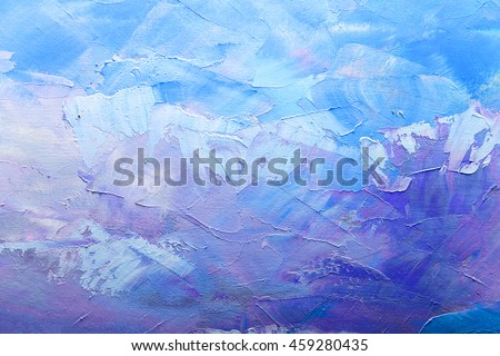abstract oil paint texture on canvas, background #459280435