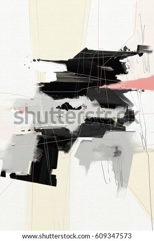 abstract oil painting background design