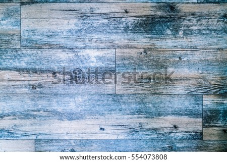 Abstract old blue wood texture background