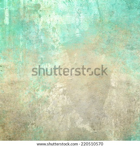 Abstract old colorful wall background
