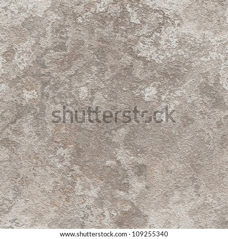 Abstract old plaster concrete wall texture. Seamless tiling. Illustration.