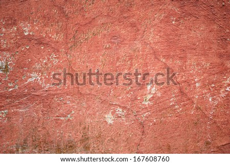 Abstract old red wall texture background