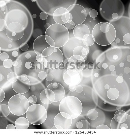 Abstract on a dark  background digital bokeh effect