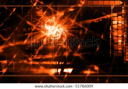 Abstract Orange Background
