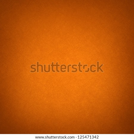 abstract orange background layout design, web template with smooth gradient color and light vintage grunge background texture. canvas linen texture material surface with faint design, bright colorful