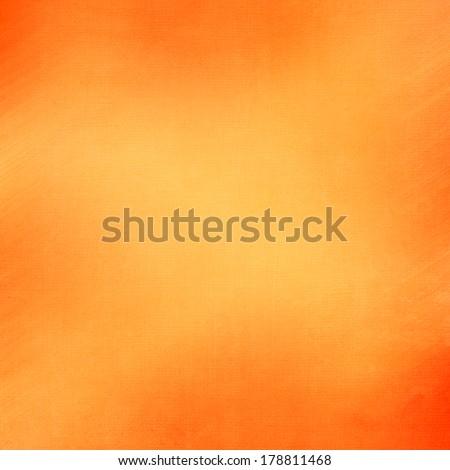 abstract orange background light yellow corner spotlight, faint dark orange vintage grunge background texture orange paper layout design for warm colorful background, rich bright hot sunny color