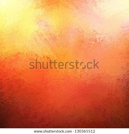 abstract orange background red pink gold bright colorful background frame vintage grunge background texture gradient design or warm autumn background happy fun poster web template, painted wall canvas - stock photo