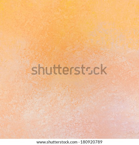 abstract orange background texture and white sponge grunge design