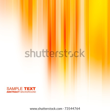 Abstract orange background with place for text