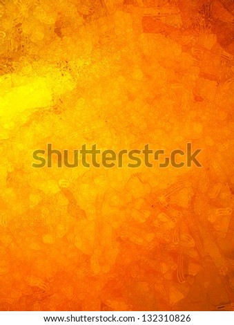 abstract orange background yellow paint color splash, glassy blur brush stroke effect, bright fiery colors, warm background, distressed grunge texture, old weathered paper, brochure ad or website