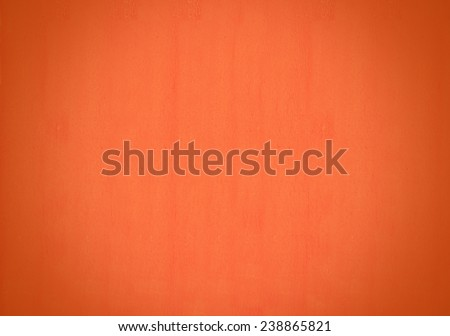 Abstract orange colour texture for warm colorful background.