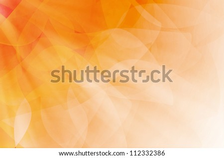 abstract orange curves background.