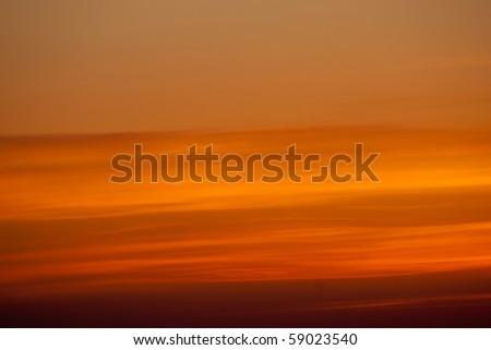 abstract orange sky