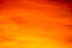 Abstract orange sky,soft focus