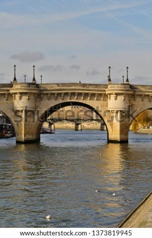 abstract ornate bridge #1373819945