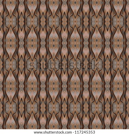 Abstract ornate weaving texture. Seamless pattern.