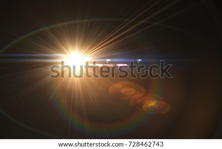 Abstract overlays background ,digital lens flare.
