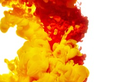 Abstract paint splash background