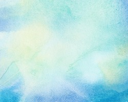 Abstract painted colorful watercolor background