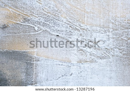 Abstract painted grunge background in different shades of grey and white with texture. Art is created and painted by photographer.