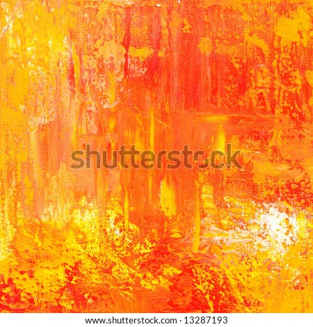 Abstract painted grunge background texture in different - Different shades of orange ...