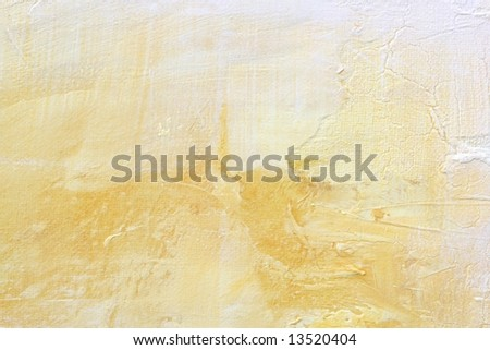 Abstract painted textured background in natural  color. Art is created and painted by photographer.