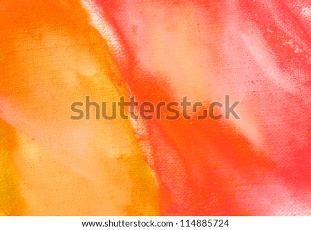 abstract painting by oil on canvas in pink tones,  illustration, background - stock photo