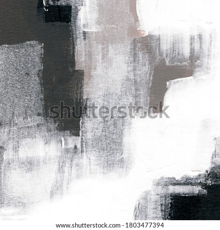 Abstract painting for creative design of posters, cards, invitations, banners, websites, wallpapers. Hand painted trendy artwork. Natural colours. Contemporary art.