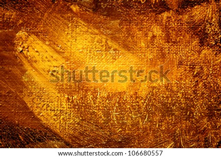 abstract painting, gold luminescence, illustration, background