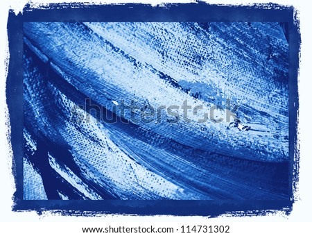 abstract painting in cold tones,  illustration,  background