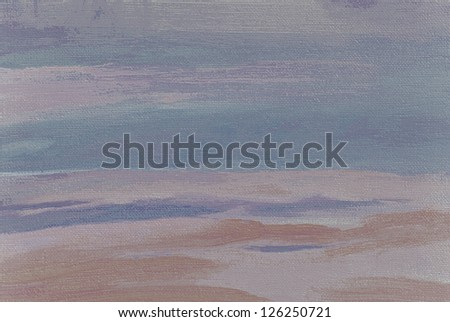 abstract painting in pastel tones oil on canvas,  illustration