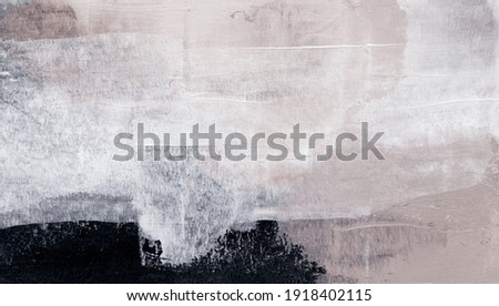 Abstract painting. Versatile backdrop can apply to a wide range of creative design projects: posters, banners, cards, websites, wallpapers and invitations. Modern artistic style. Neutral colours.