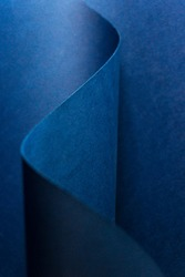 Abstract paper blurry blue background