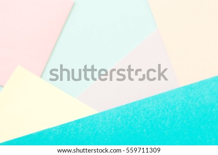 Abstract paper is colorful background,Creative design for pastel wallpaper #559711309