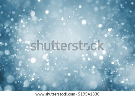 abstract particle with blue background  #519541330