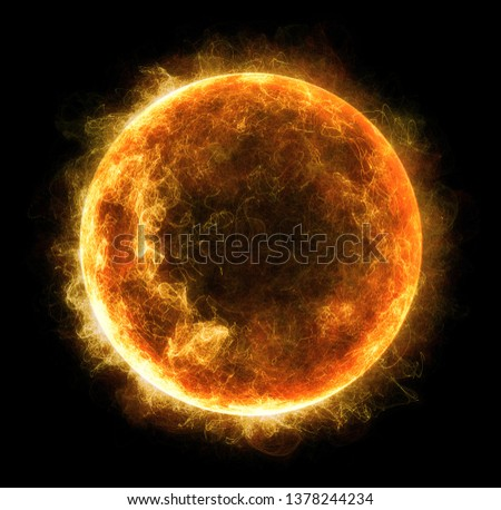 Abstract particles background with corrupted point sphere. Sun Solar Flare Particles coronal mass ejections. Globe grids with a broken structure. 3D rendering